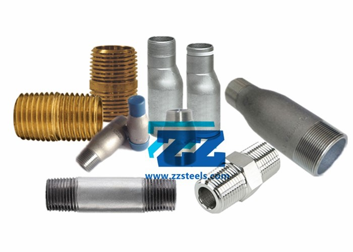 Steel Pipe Nipple Types, Dimensions and Materials | ZIZI